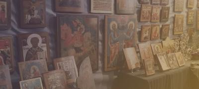 Assessment of ancient icons in Kiev