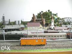 Коллекция железнодорожных моделей