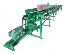 Pinoteca, chain conveyor conveyor for logs
