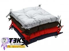 Подушки на стул 40х40, табурет, подушка для дома, ресторана