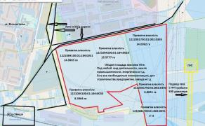 Sell a plot of 70 HA industrial ZONE railway branch line, GAS