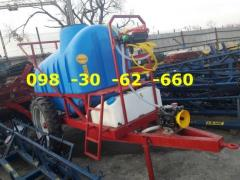 Sprayer OP 800 (600)-2000(2500) polmark trailer (wall-mounted